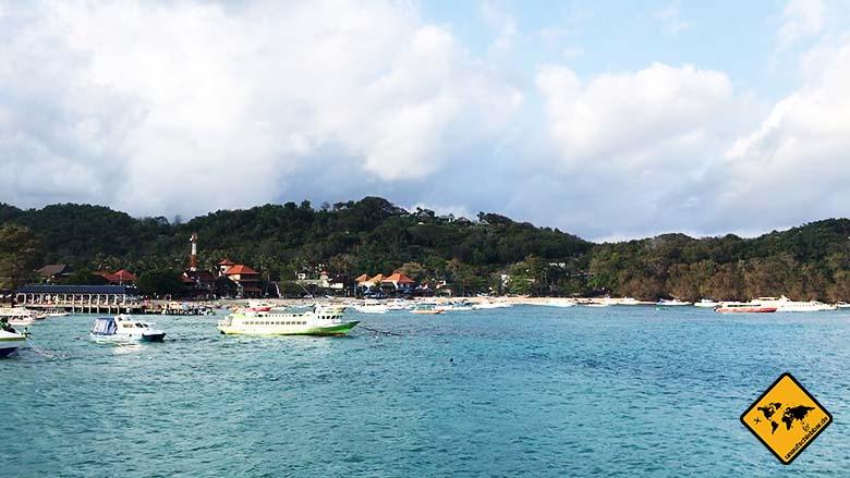 Nusa Pendia Anreise Hafen Padang Bai