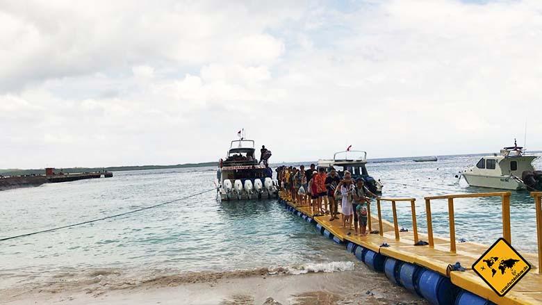 Nusa Penida Anreise Hafen
