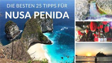 Top 25 Reisetipps für Nusa Penida