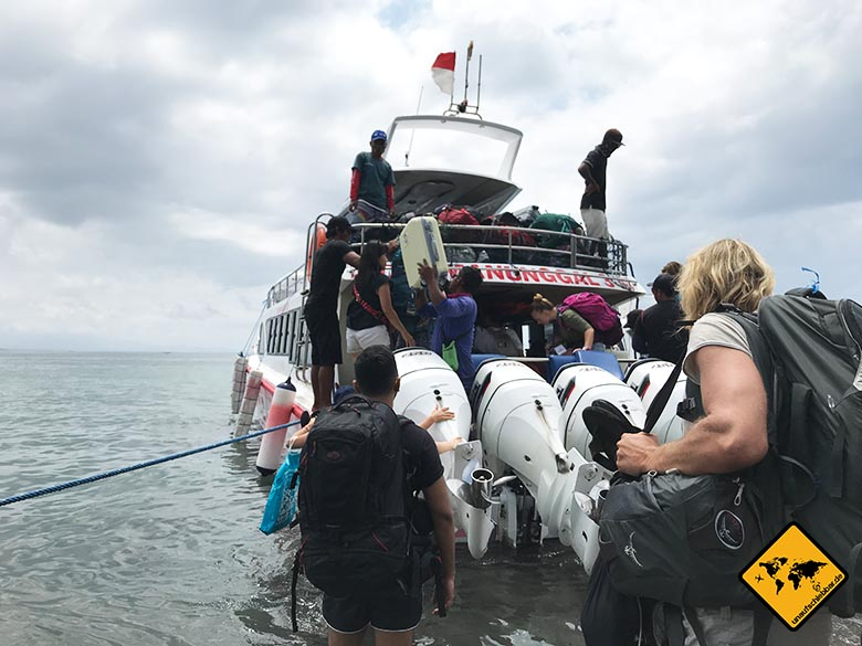 Nusa Penida Boot Sanur