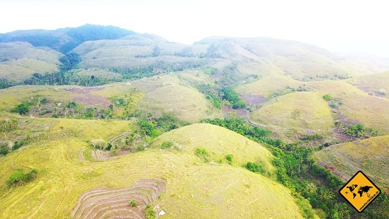 Nusa Penida Sehenswürdigkeiten Teletubbie Hills