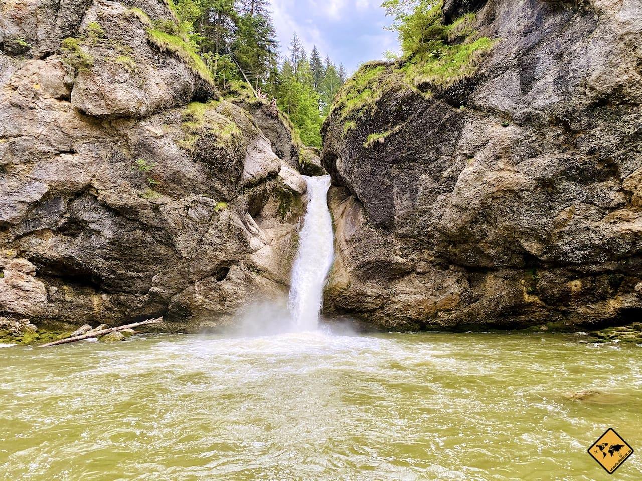 Oberstaufen Buchenegger Wasserfälle