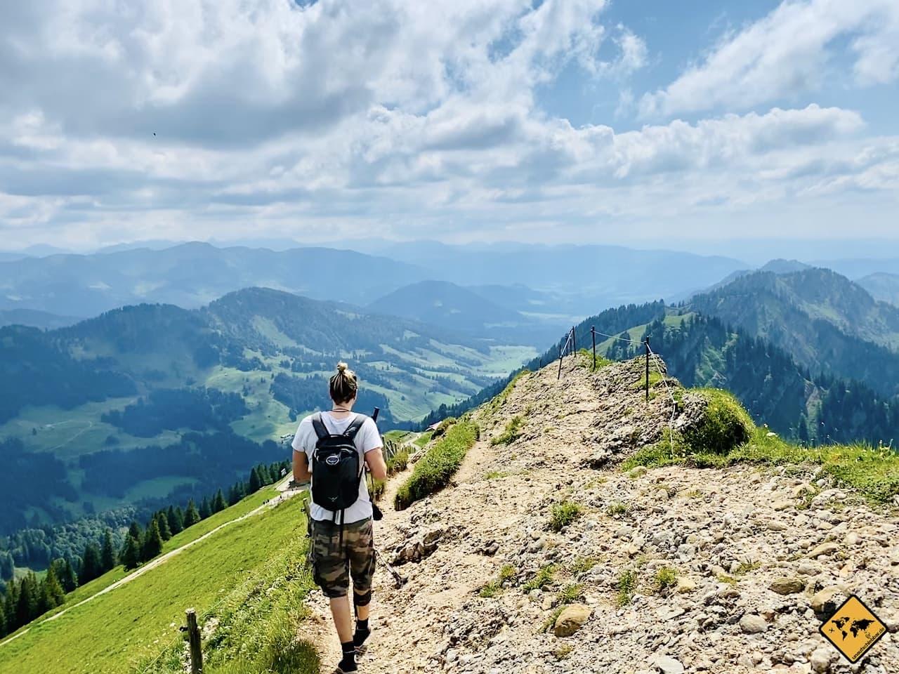 Oberstaufen Hochgrat Wanderung