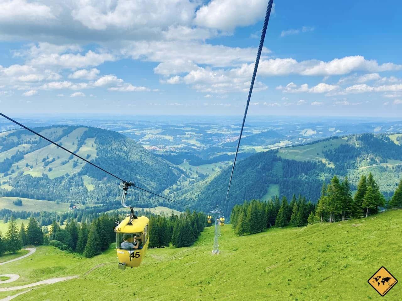 Oberstaufen Hochgratbahn