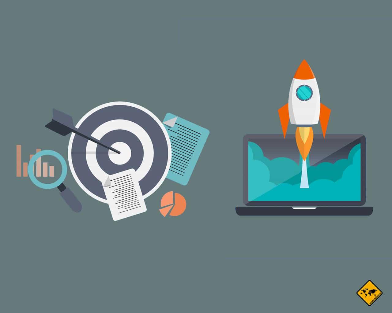 Online Business Unternehmer Remote Work