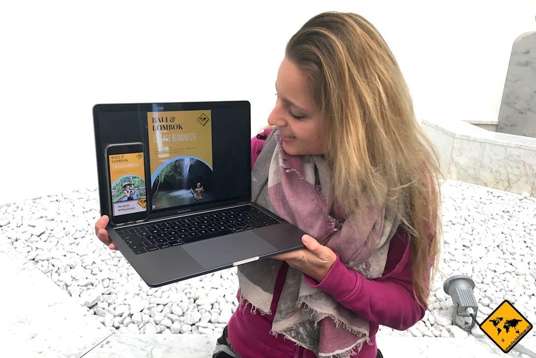 Online Business aufbauen: Ein eigener Blog, über den du z.B. auch eigene Produkte verkaufen kannst, ist eine gute Möglichkeit, um online Geld zu verdienen
