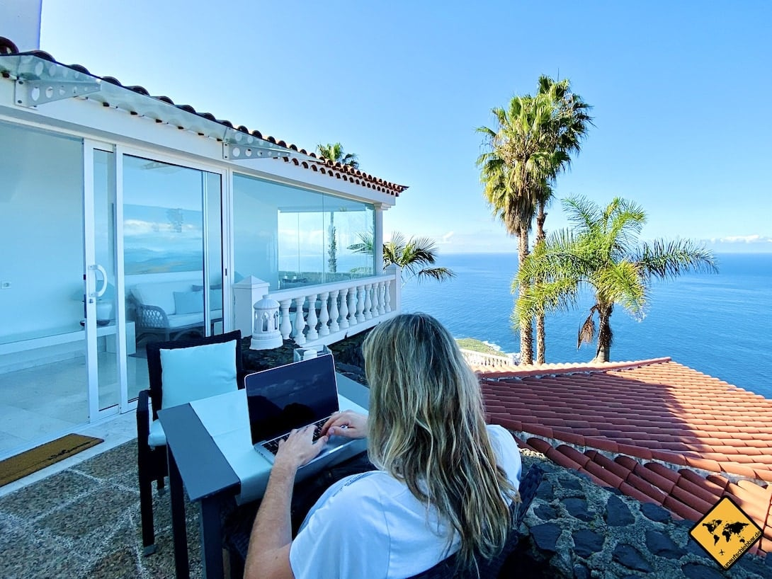 Online Business aufbauen Reisefinanzierung