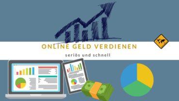 🥇 Online Geld verdienen seriös und schnell 🤑