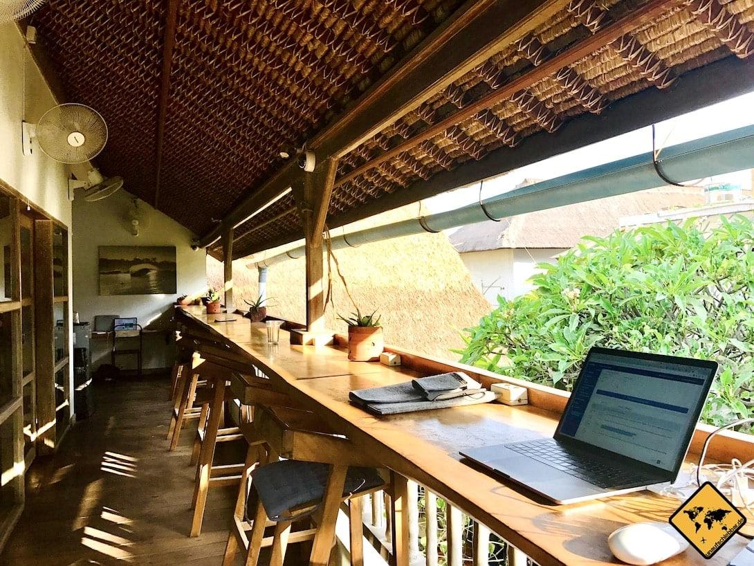 Online Jobs digitale Nomaden Coworking Space Dojo Bali