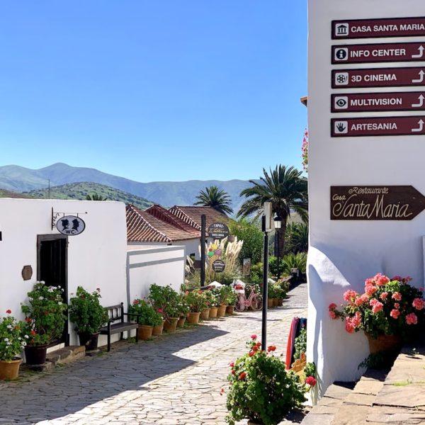 Ortskern Betancuria Fuerteventura