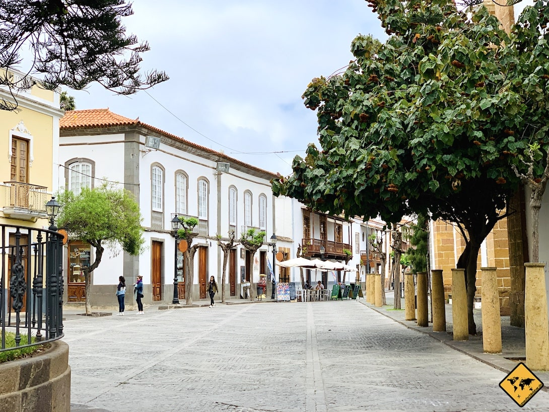 Ortskern Teror Gran Canaria