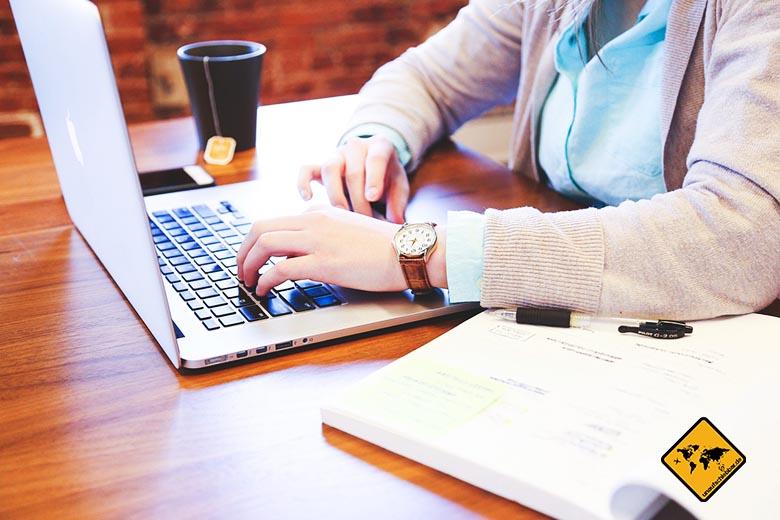 Ortsunabhängig arbeiten Jobs Texter Content