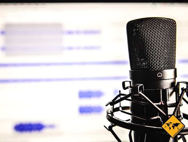 Ortsunabhängige Berufe Podcasts erstellen