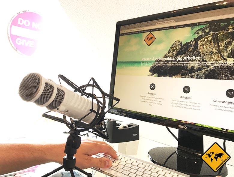 Ortsunabhängige Jobs Podcaster