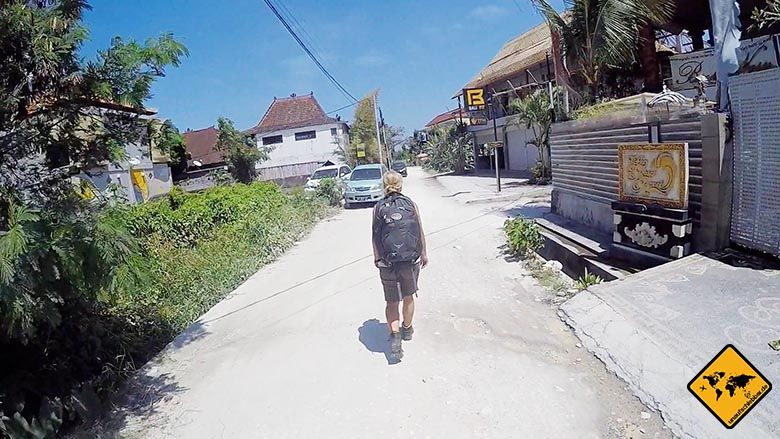 Osprey Farpoint 55 Test Backpacking Bali