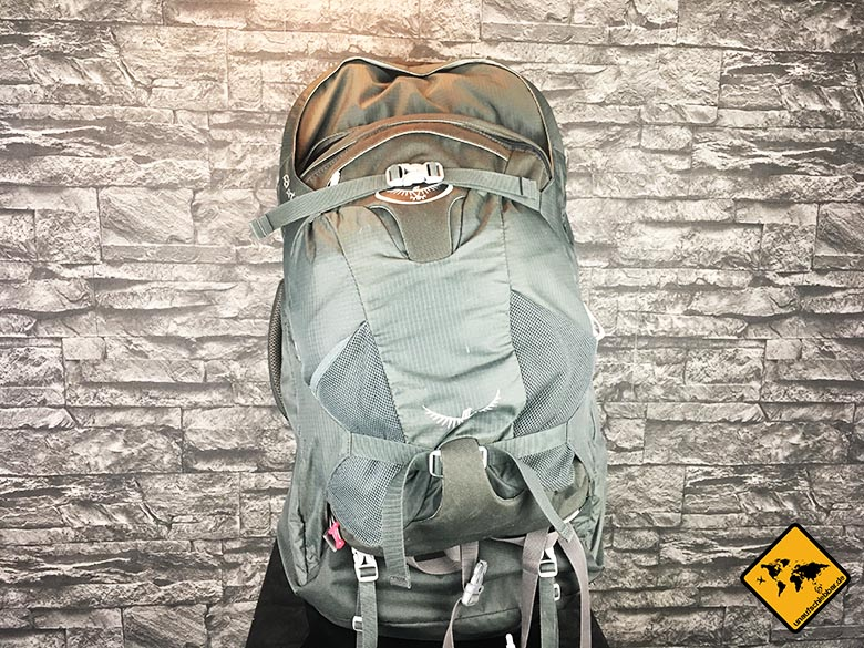 Backpacker Rucksack Osprey Farpoint 70 Test Front