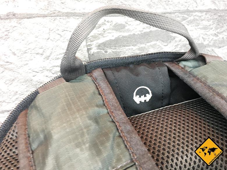 Osprey Farpoint 70 Test Kopfhörerausgang