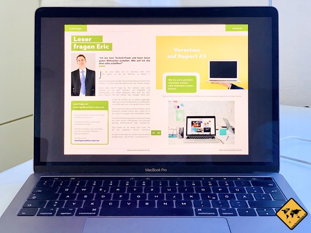 PDF Online Marketing Magazin Cashflow Report