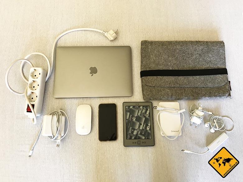 Packliste Bali Elektronik