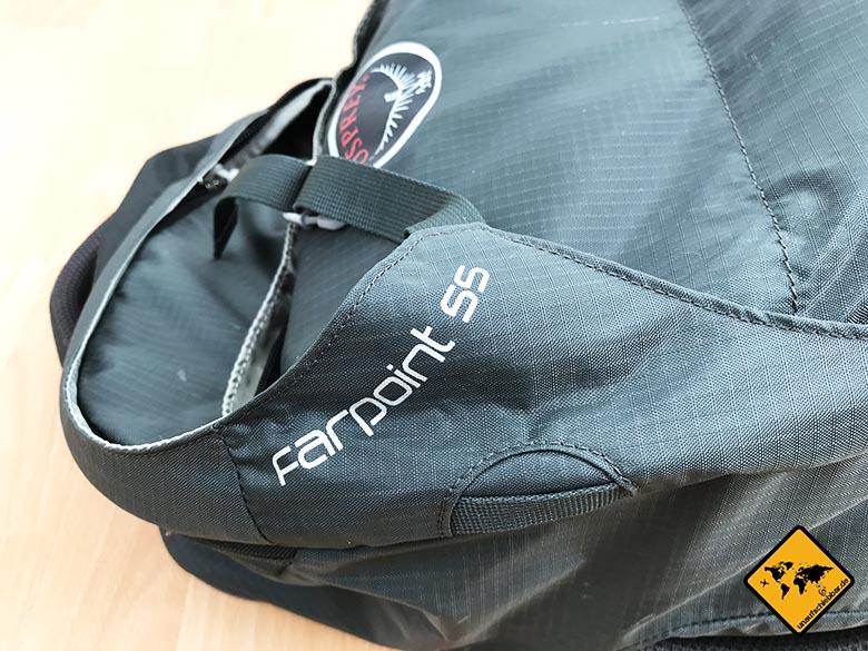 Packliste Sommerurlaub Backpacker Rucksack Osprey Farpoint 55