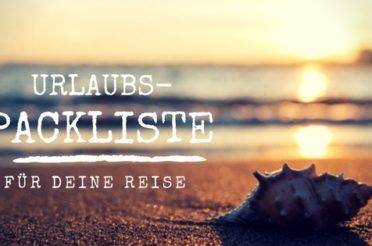 Packliste Urlaub: Sommer, Strand & Meer – mit PDF Checkliste