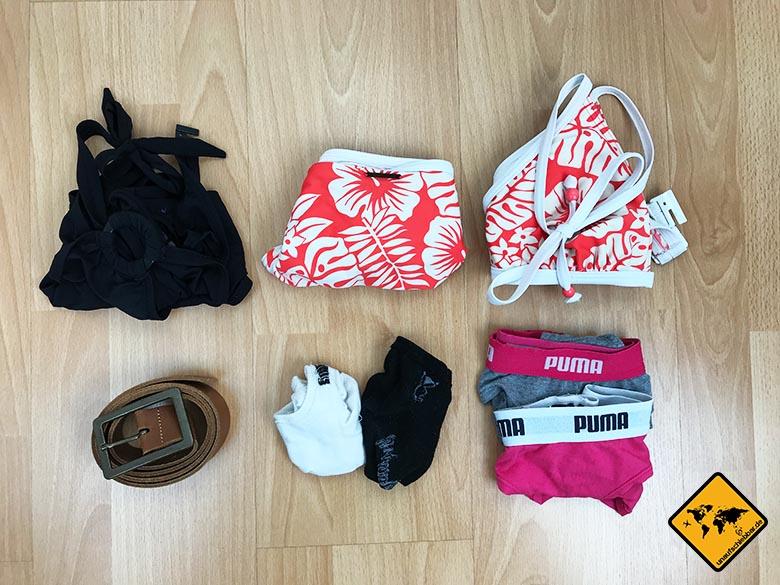 Packliste Urlaub Bikini