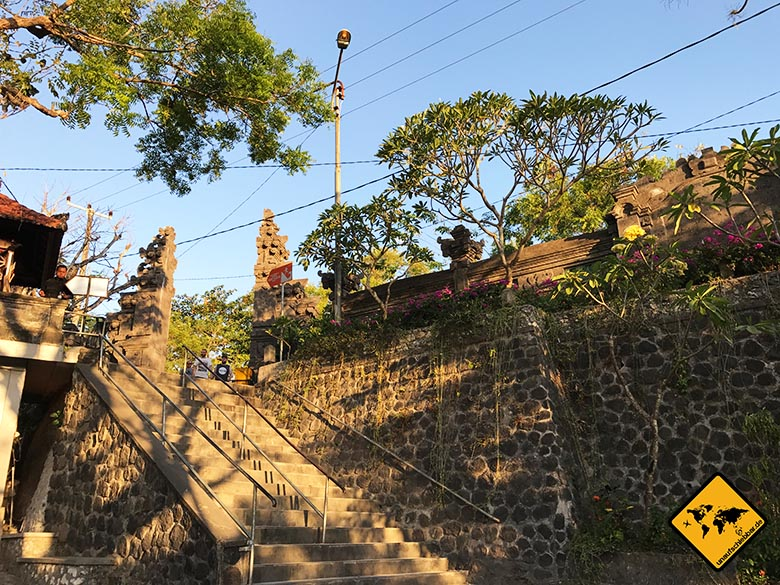 Padang Padang Bali Eingangsbereich