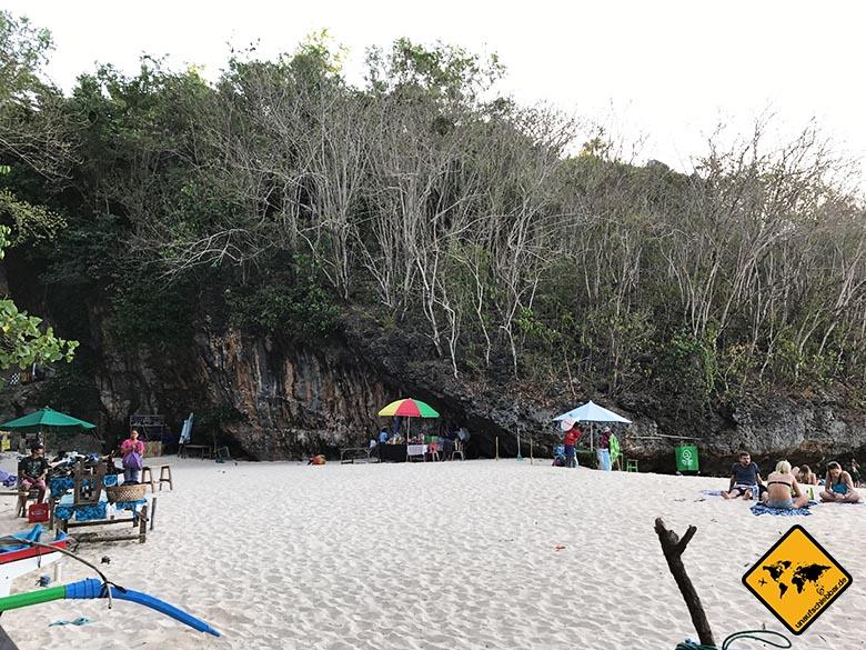Padang Padang Beach Bali Garküchen