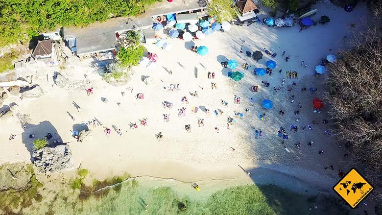 Padang Padang Beach Bali Nachmittag HauptsaisonPadang Padang Beach Bali Nachmittag Hauptsaison