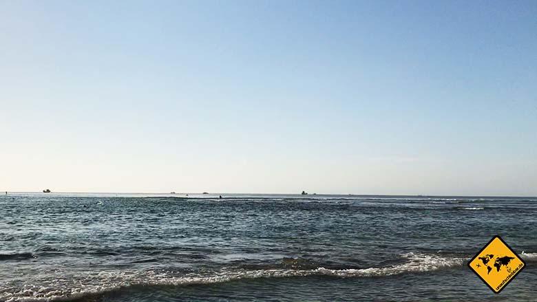Padang Padang Beach Bali Wellengang