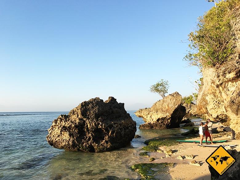 Padang Padang Beach Bali surfen