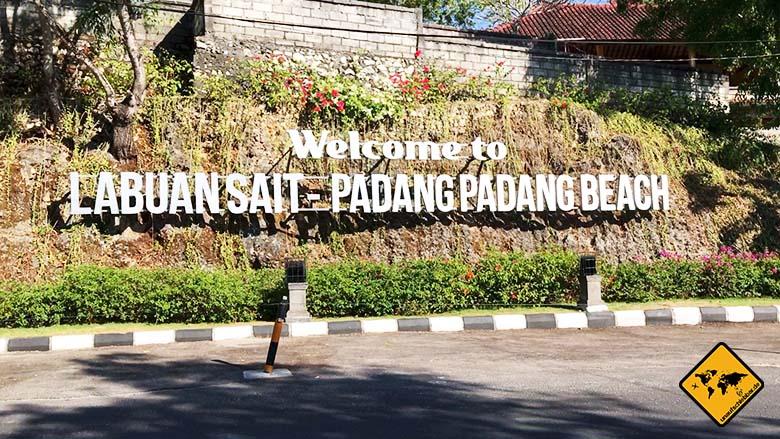 Padang Padang Strand Anfahrt