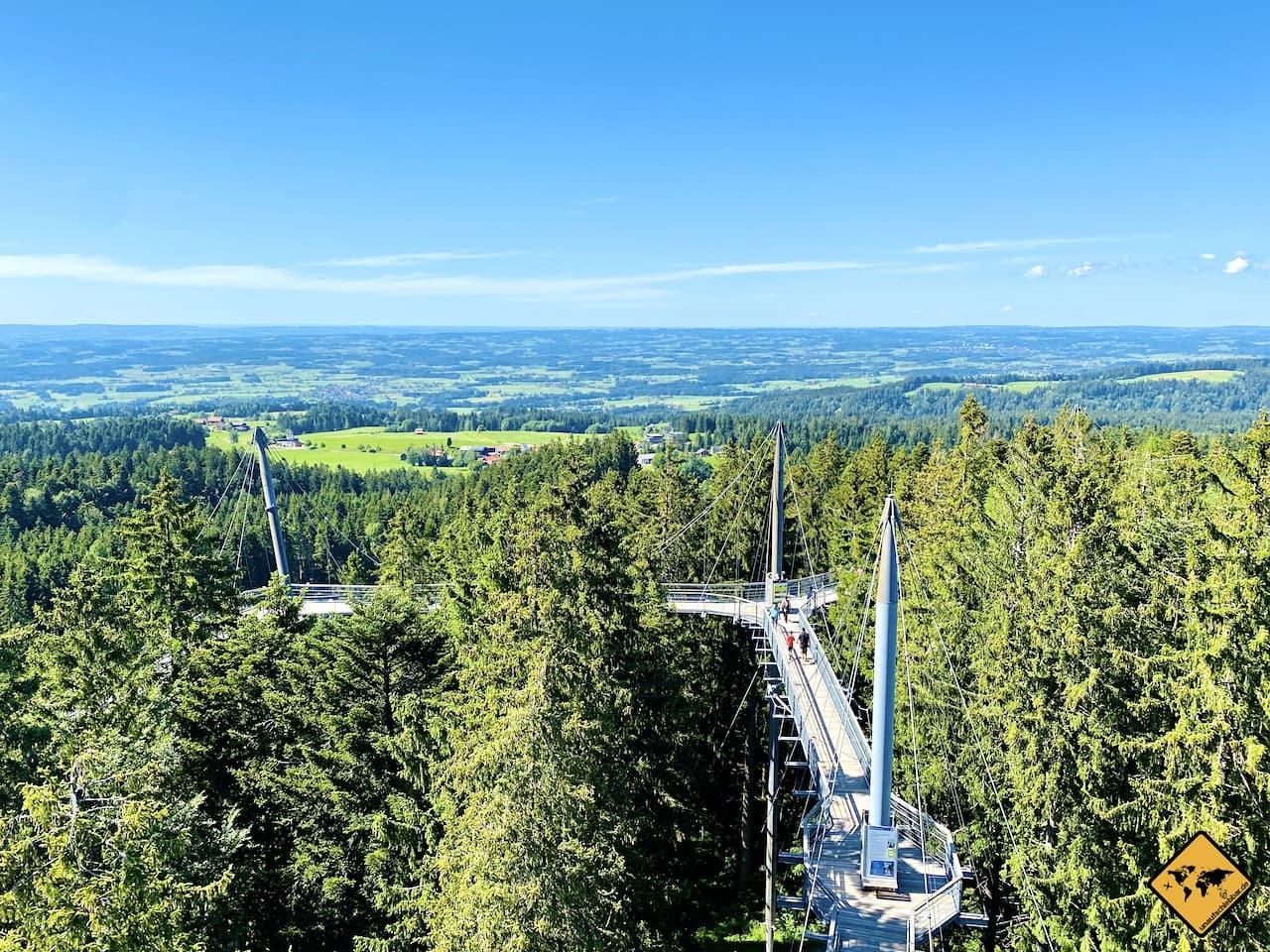 Panorama Brücke Skywalk Allgäu