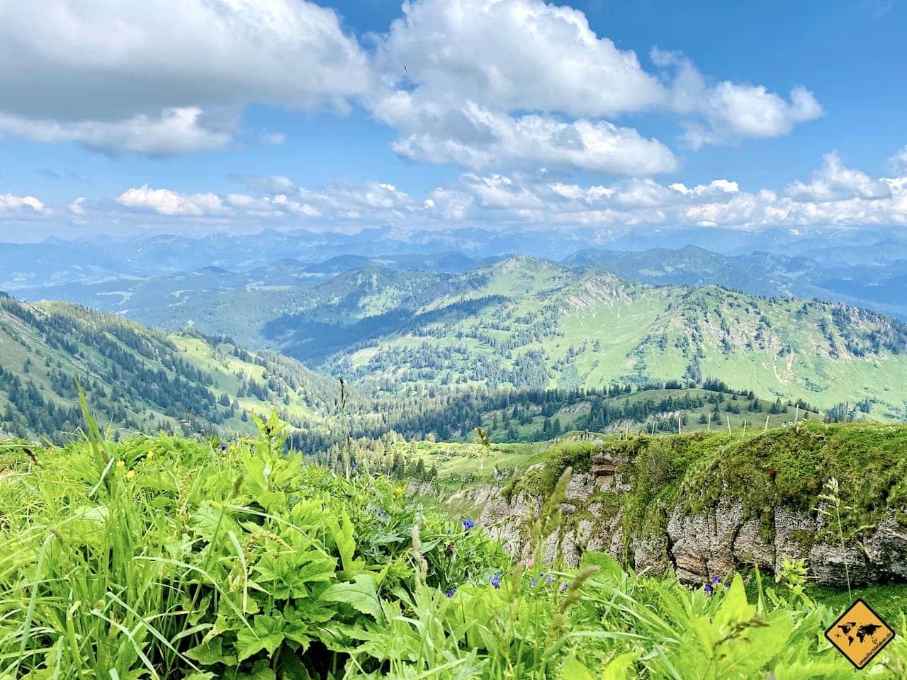 Panoramaweg Hochgrat Aussicht