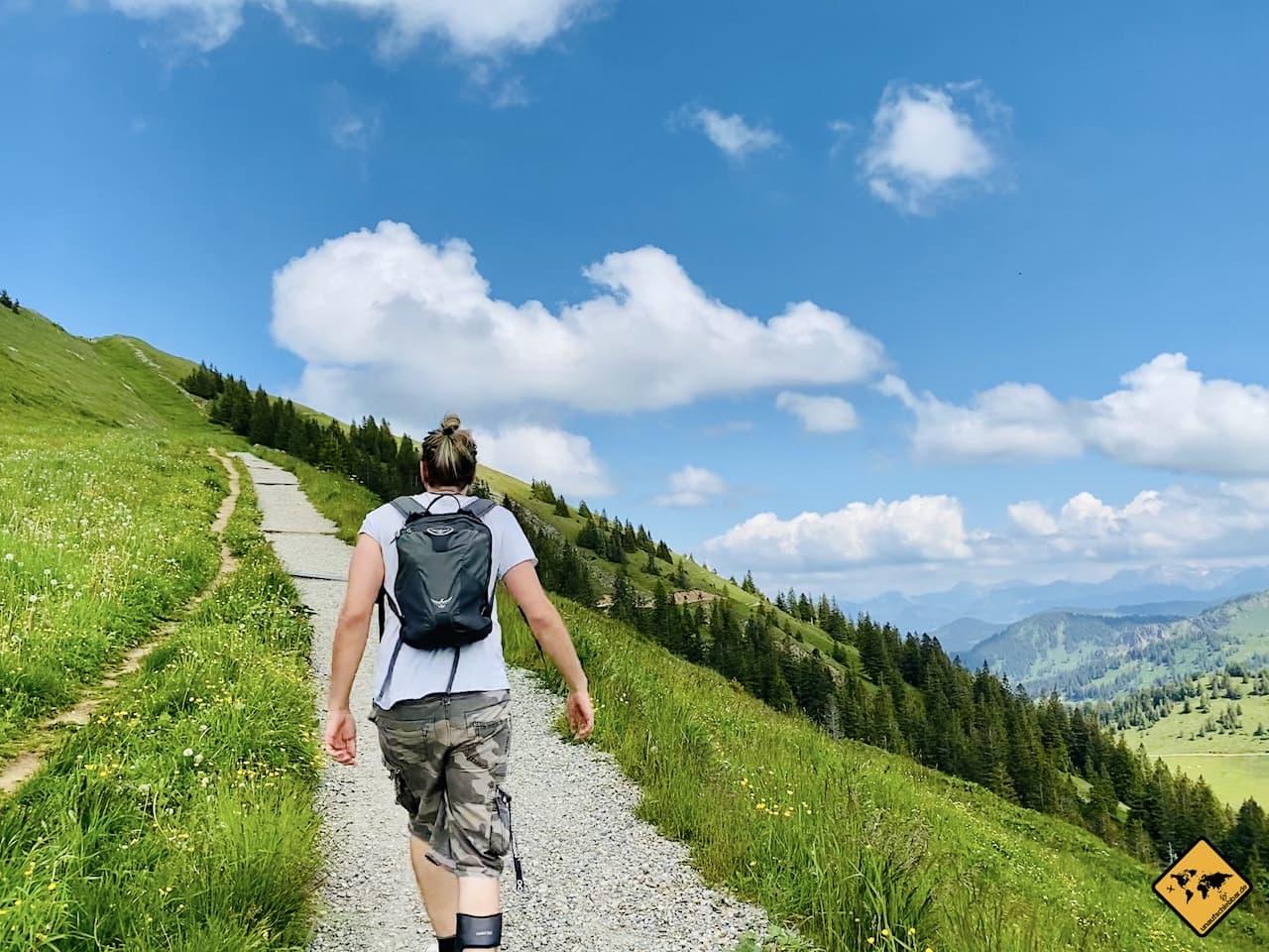 Panoramaweg Hochgrat Gipfelwanderung