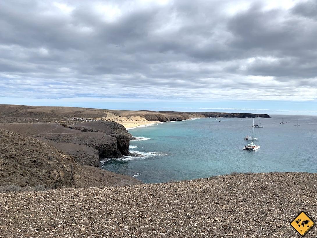 Papagayo Beaches Playa Mujeres Lanzarote