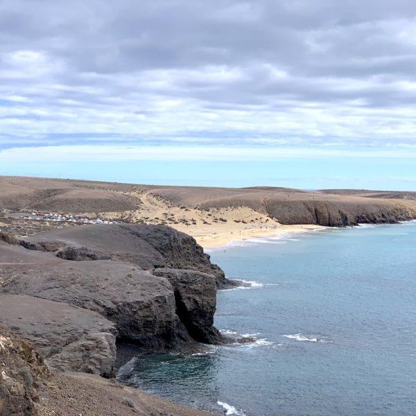 Papagayo Strände Blick von Playa Blanca
