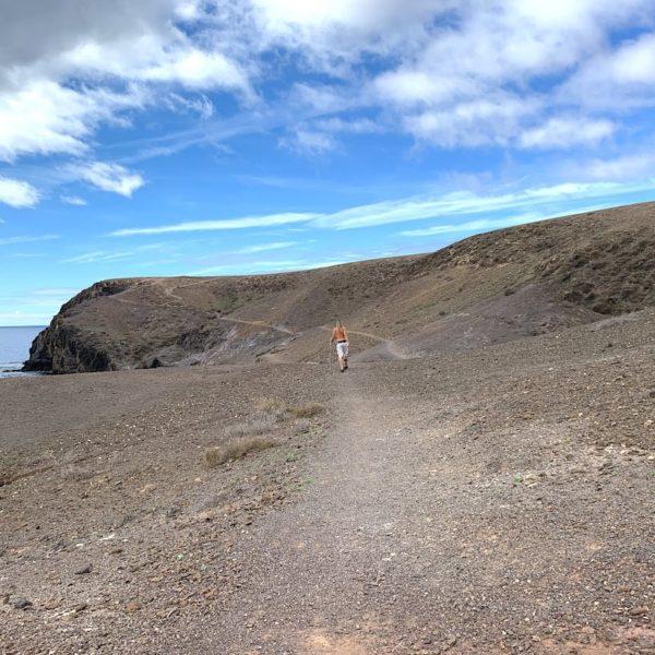 Papagayo Strände Lanzarote Fußweg