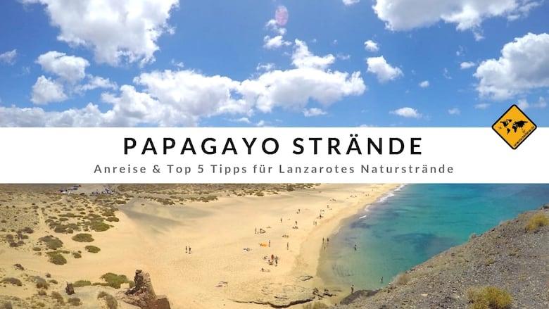 Papagayo Strände Lanzarote