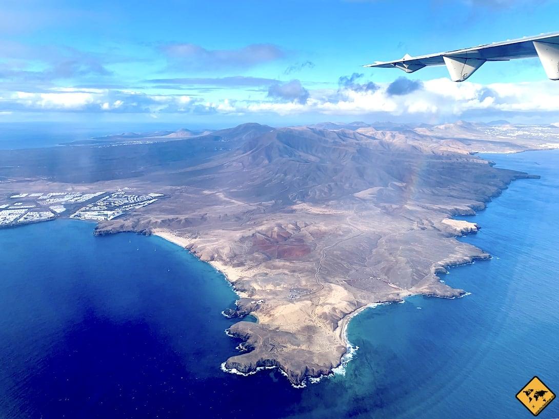 Papagayo Strände Luftaufnahme