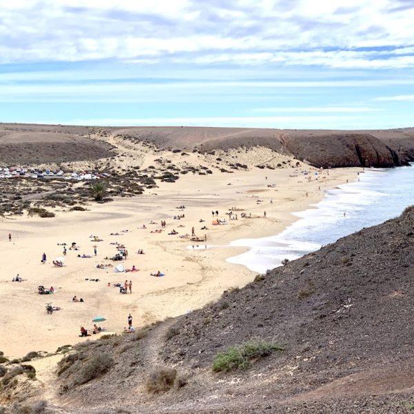 Papagayo Strand Playa Blanca Ausflug Lanzarote