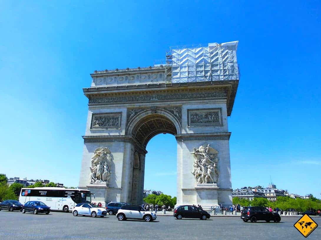 Paris City Pass Arc de Triomphe
