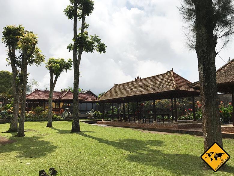 Parkanlage Pura Ulun Danu Bratan