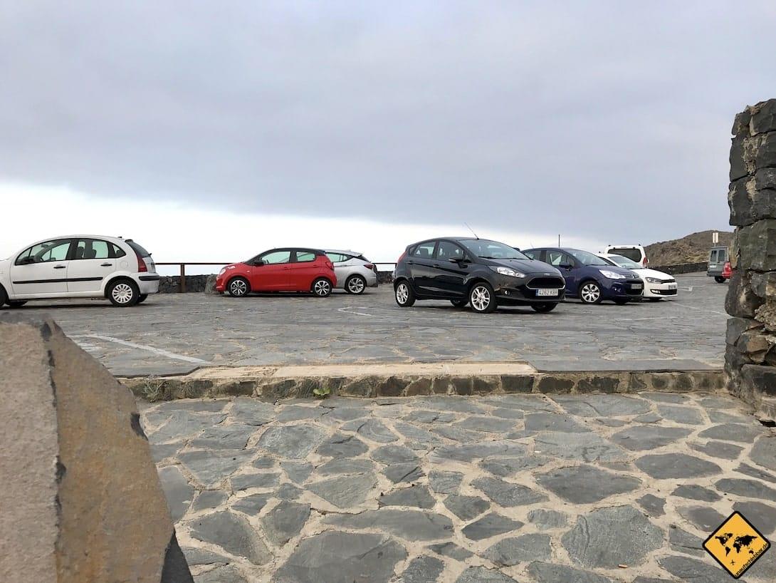 Parkplatz Charco del Viento