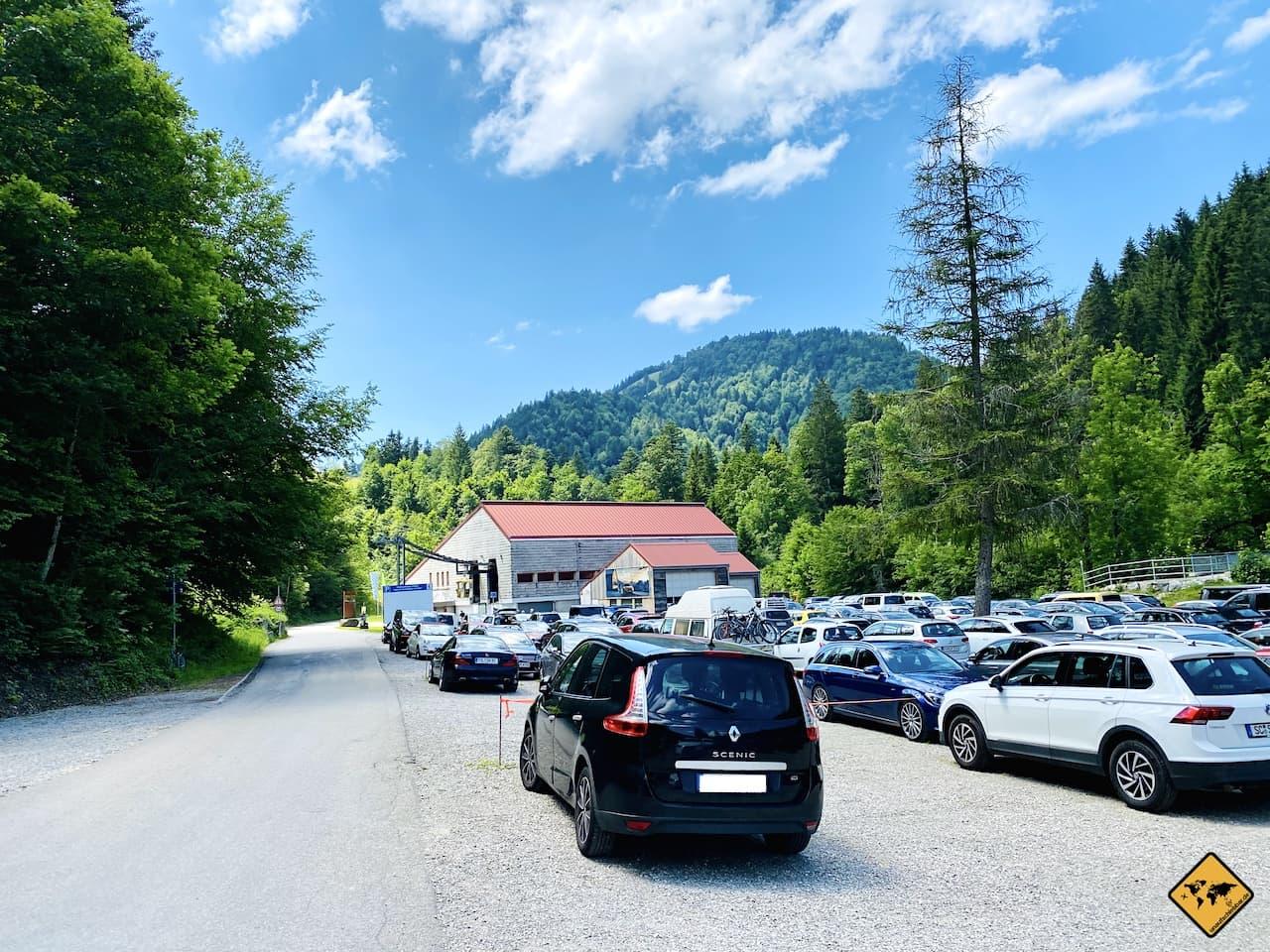 Parkplatz Hochgratbahn Oberstaufen
