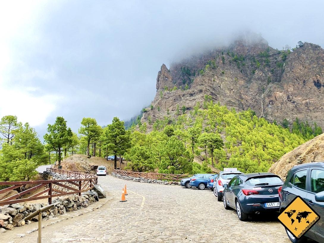 Parkplatz Mirador de la Cumbrecita La Palma