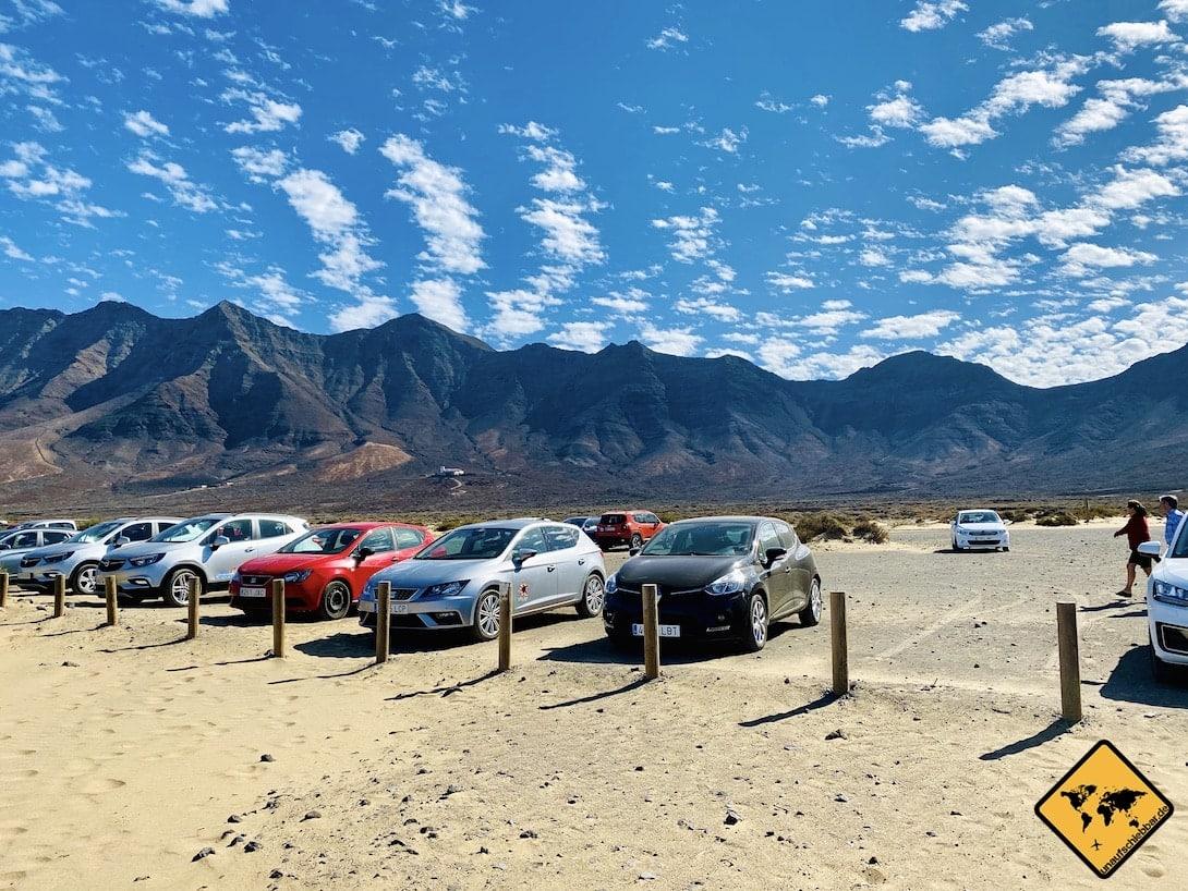 Parkplatz Playa de Cofete