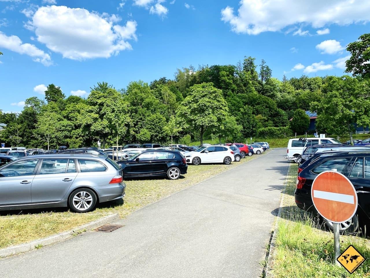 Parkplatz zum See P1 Unteruhldingen Baden-Württemberg