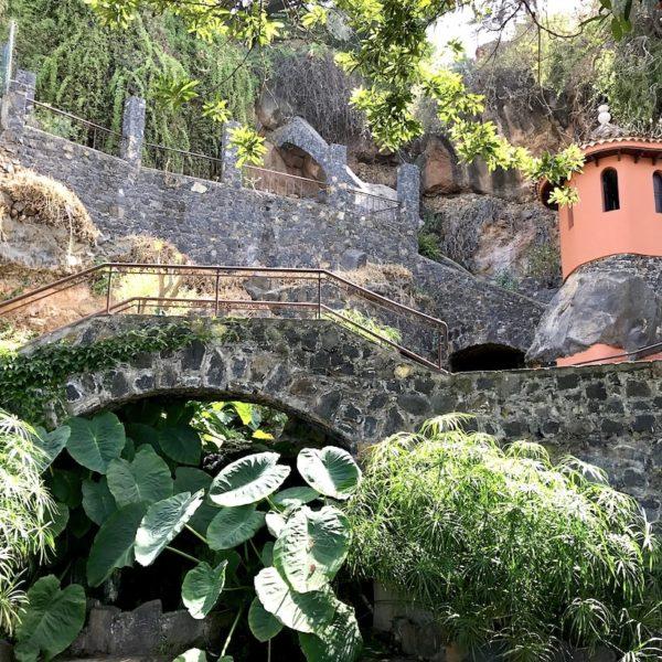 Parque Los Lavaderos El Sauzal Teneriffa