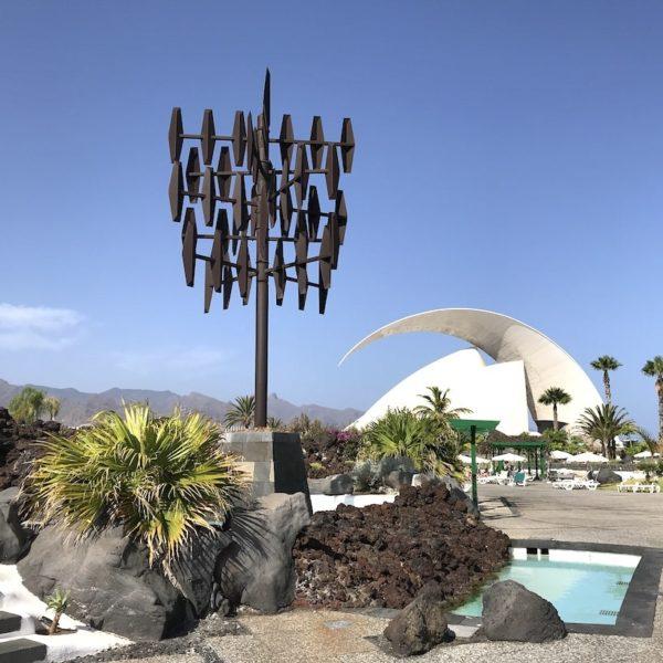 Parque Marítimo Santa Cruz de Tenerife Kunst